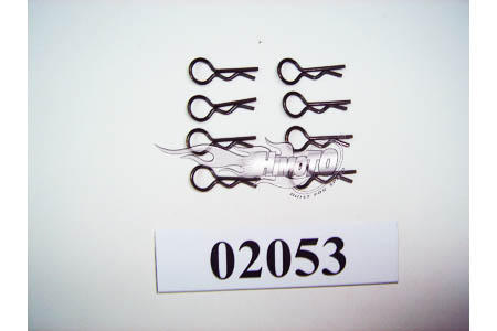 02053 HSP/Himoto Body Clips